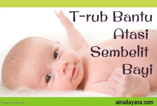 T-rub Bantu Atasi Sembelit Bayi