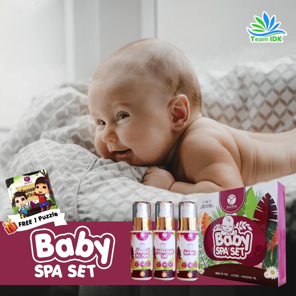 Bayi Baru Lahir – Mudah Diurus dengan Baby Spa Set