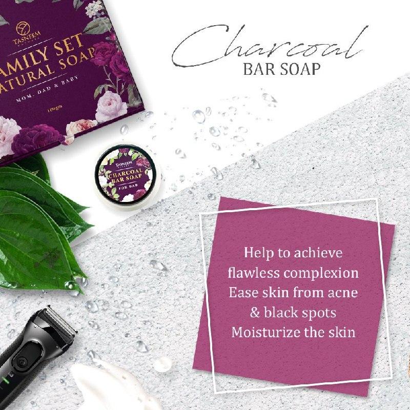 charcoap bar soap