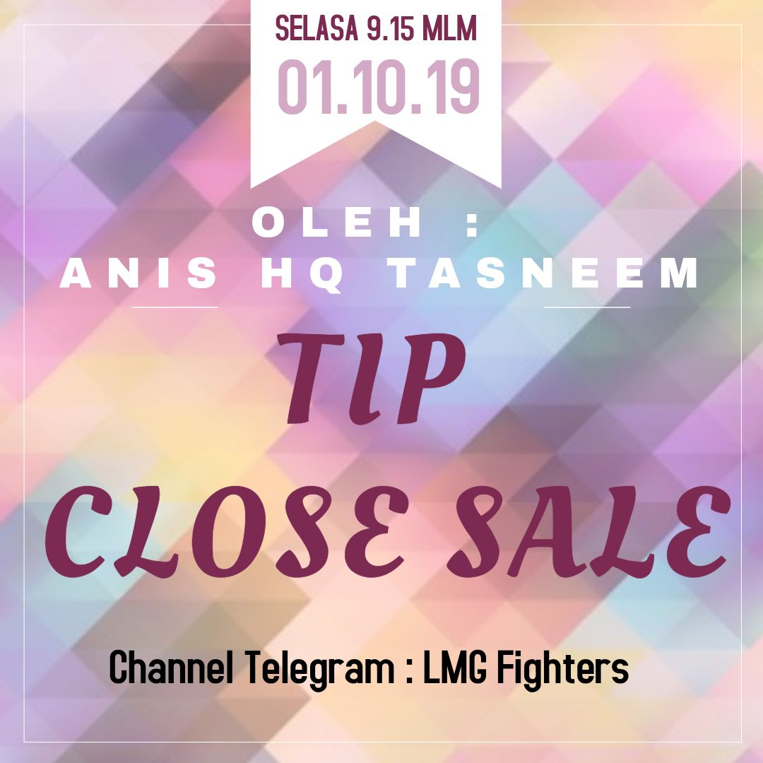 Kelas Online : Tip Close Sale