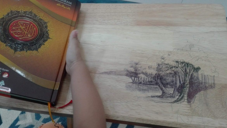 Ayah dan lukisan