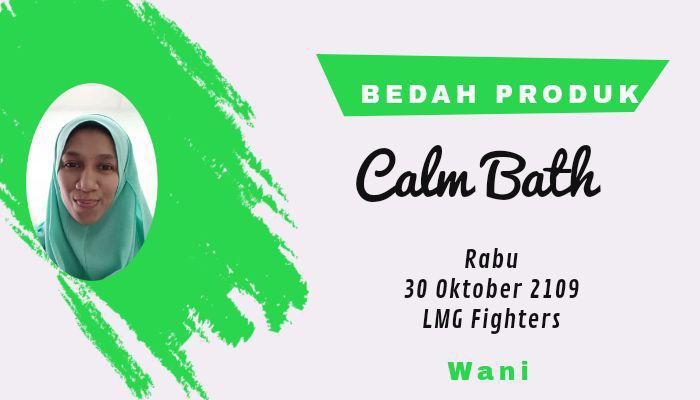 8 calm bath