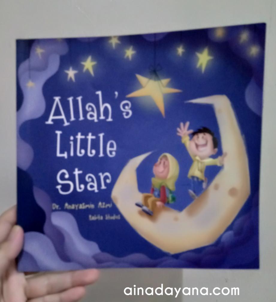 Buku Allah's Little Star oleh Dr Anayasmin Azmi