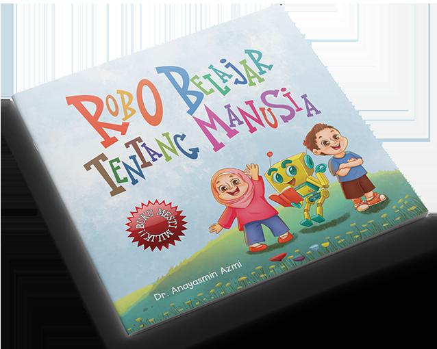 Buku Robo Belajar Tentang Manusia