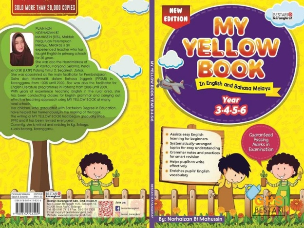 Buku Latihan Anak : My Yellow Book